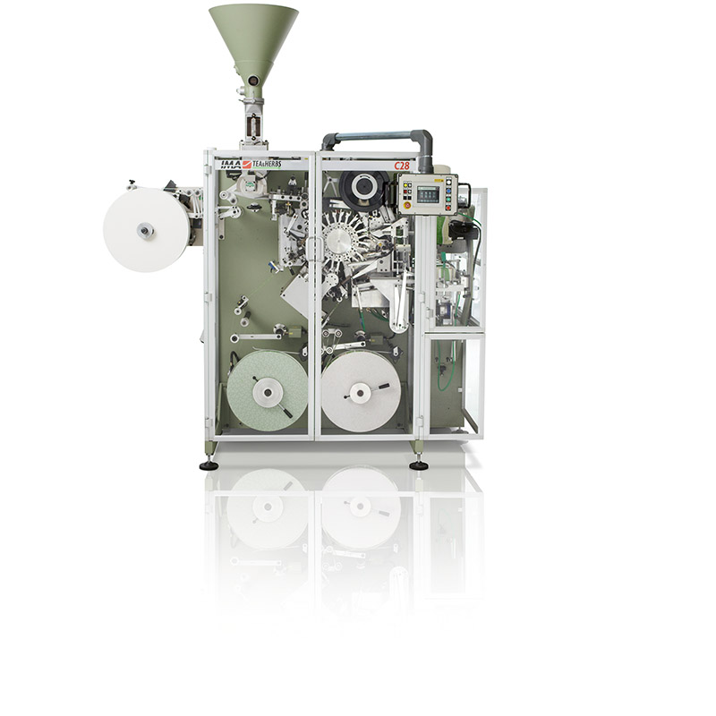 Food & Beverages IMA TEA & HERBS - C28 Tea Bag Machines