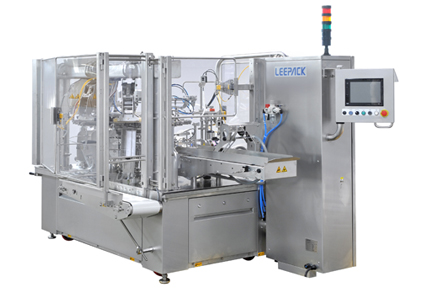 Food & Beverages LEEPACK - Simplex Rotary Fill Seal Machine